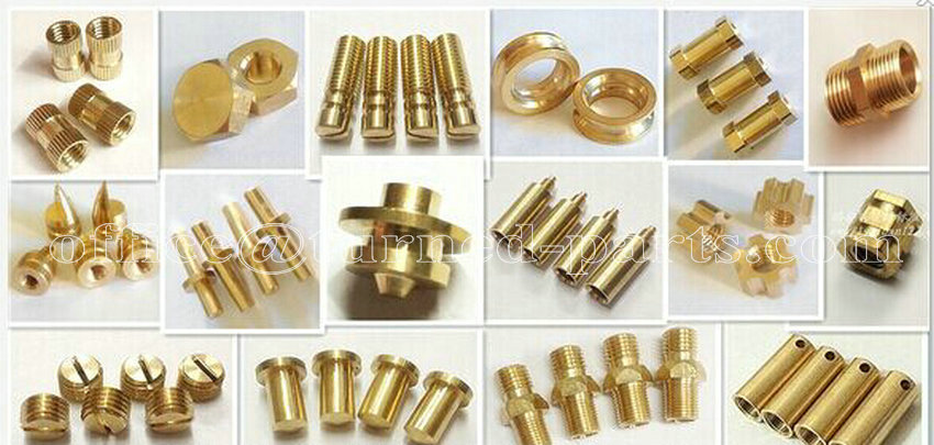 custom precision brass turned parts exporter