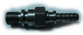 China precision mild steel threaded stepped nozzle manufacturer & exporter