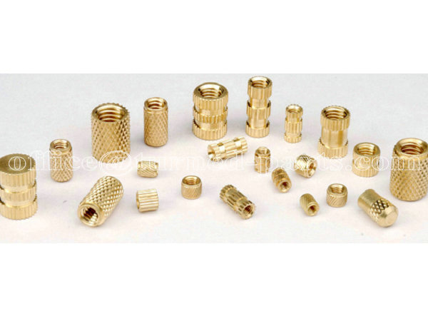 custom precision double head straight knurled brass nuts manufacturer